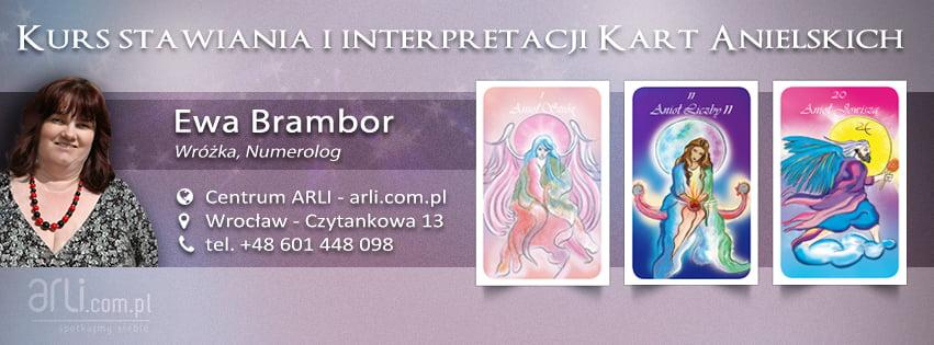 Kurs stawiania iinterpretacji kart Anielskich - Ewa Brambor, wróżka, numerolog - Centrum ARLI, Wrocław - Czytankowa 13, tel.+48. 601 448 098