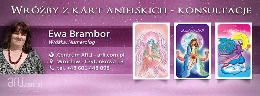 Wróżby zKart Anielskich - Ewa Brambor - wróżka, numerolog - Centrum ARLI, Wrocław - Czytankowa 13, tel.+48. 601 448 098